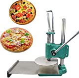 INTBUYING 8.7inch Manual Pizza Dough Press Machine Pastry Press Premade Pizza Dough Pizza Presser
