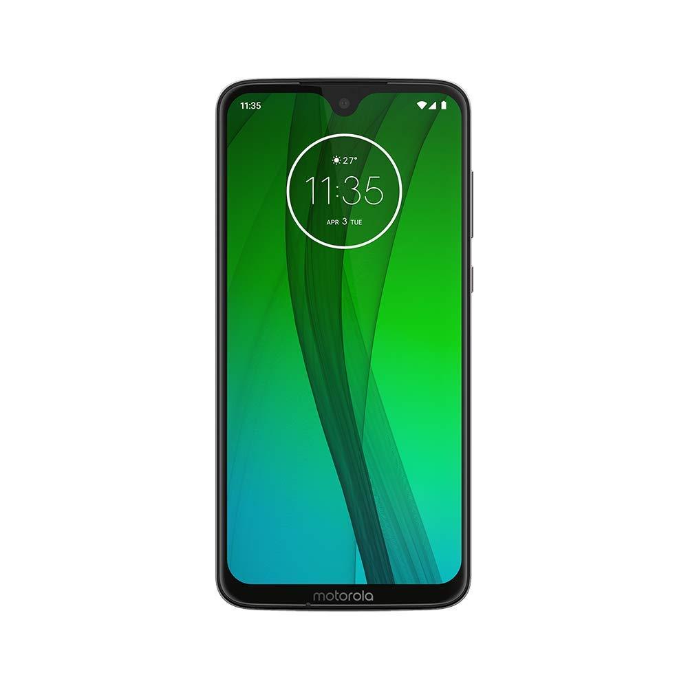 "Motorola Moto G7 (64GB, 4GB RAM) 6.2"" HD+ Display, Dual SIM GSM Unlocked (AT&T/T-Mobile/MetroPCS/Cricket/H2O) - XT1962-6 -..."