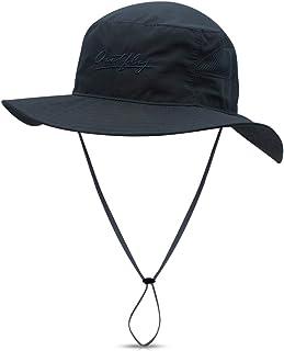 DORRISO Sombrero de Sol Hombres Mujer Sombrero para el Sol Anti-UV Vacaciones Viaje Playa Gorro de Pesca, Talla única Sombrero