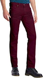 ETHANOL Mens Slim Hyper Stretch Motion Denim Jean with Short and Tall Inseams