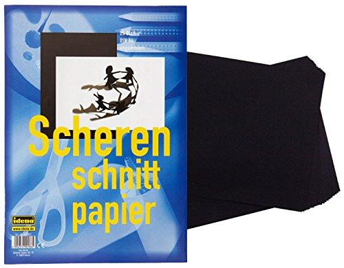 75 (3x 25) Blatt Scherenschnittpapier / DIN A4