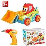 LUKAT Montage Spielzeug Auto Schrauben LKW Spielzeugauto Werkzeug Spielzeug für Jungen, Mädchen und Kinder