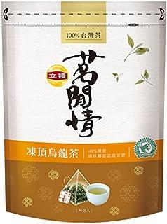 《立頓》 茗間情 凍頂烏龍茶(台湾リプトン-凍頂烏龍茶)(三角ティーバッグ-36入/包) 《台湾 お土産》 [並行輸入品]