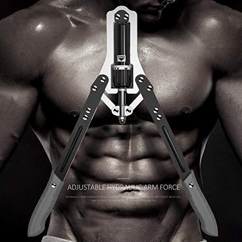 Cracklight Power Twister Arm, Barra de torsión, Brazo de Entrenamiento de Pesas, 10-150 kg, Brazo Ajustable, Entrenamiento Muscular Life Home Fitness aparatos Famous