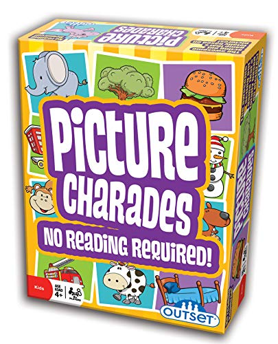 Picture Charades for Kids - No Reading Required! - An Imaginative Twist on a Classic Game Now for...