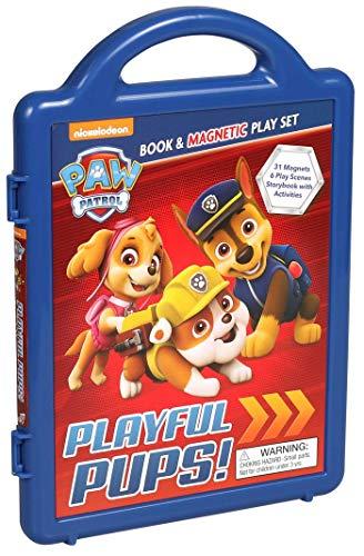 Nickelodeon PAW Patrol: Playful Pups!: Book & Magnetic Play Set