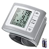Blood Pressure Monitor, ATMOKO Wrist Blood Pressure Monitor for Home Use with Large