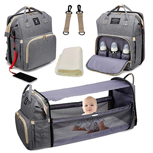 Diaper Bag Backpack, Baby Nappy Changing Bags Multifunctional Travel...