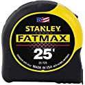 "Stanley Tools 1-1/4"" x 25-Foot FatMax Tape Measure"