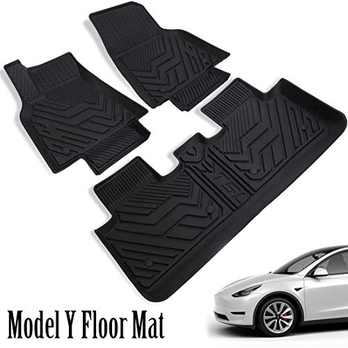 Save 50% Off All-Weather Floor Mats for 2020 Tesla Model