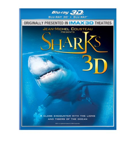 SHARKS 3D BD [Blu-ray]