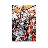 YJTY Póster de videojuegos, Grand Theft Auto V, GTA 5 en lienzo y arte de pared, impresión moderna para dormitorio familiar, 30 x 45 cm