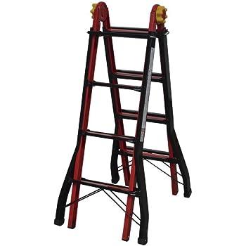 Cofan 09401080 Escalera multiposición con 4x4 peldaños, 0.011 V, 4,50 m: Amazon.es: Bricolaje y herramientas