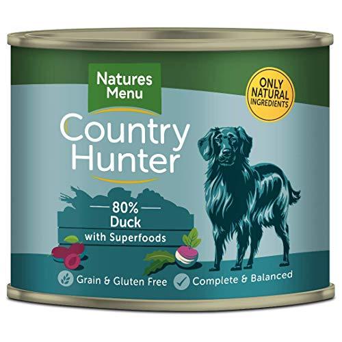 naturesmenu Hundefutter Country Hunter Saftige Ente | 6 x 600g