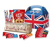 Nestle Kit Kat Variety by The Yummy Palette | British Kit Kat Candy bars Kit Kat Peanut Butter Pouch with Basically British Retro Pencil Case