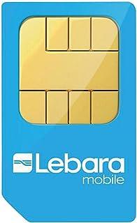 Lebara Tarjeta Nano Sim Precargada Pay As You Go - N/A, Combi SIM