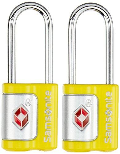 Samsonite Travel Accessories Us Air Trkey Lock Set Lucchetto per Valigie, 2 Pezzi, Nero, 7 cm