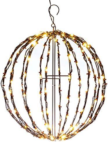 Elf Logic 16 Outdoor LED Elf Logic Light Ball Hanging Tree Globe Light Outdoor Holiday Light product image