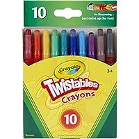 10-Count Crayola Twistables Crayons Coloring Set