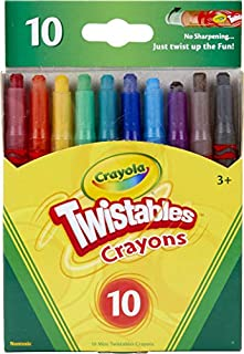 Crayola Twistables Crayons Coloring Set, Twist Up Crayons for Kids, 10 Count (B0089ZMNM6) | Amazon price tracker / tracking, Amazon price history charts, Amazon price watches, Amazon price drop alerts