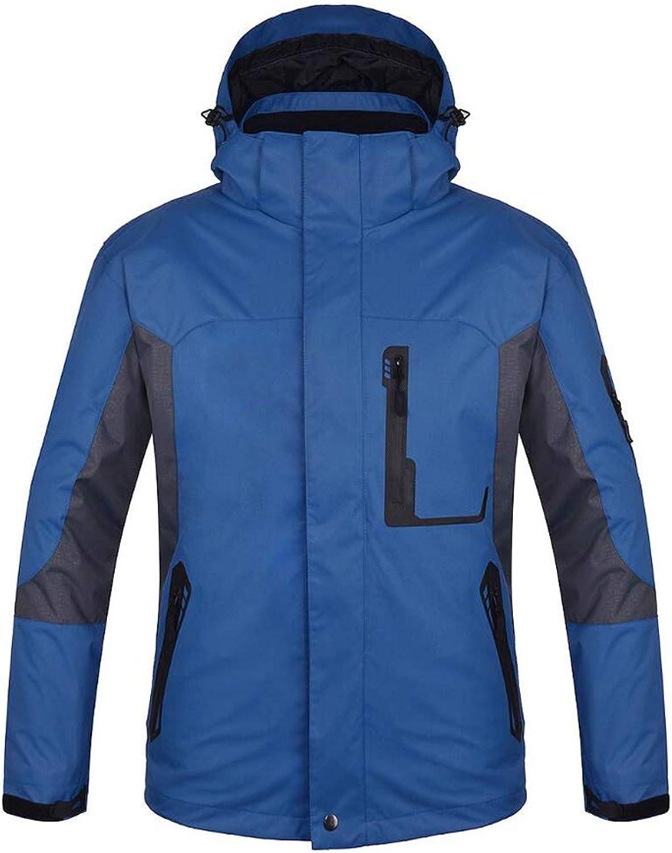 Winter Outdoor Jacket 3 In 1 Waterproof And Windproof Warm Climbing Jacket