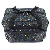ShawFly pequeña bolsa de transporte para máquina de coser, utilizada para transportar objetos pequeños y accesorios de la máquina de coser, una bolsa de nailon universal con bolsillo y asa