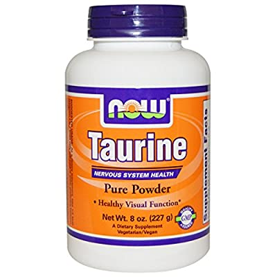 Now Foods Taurine Powder Vegetarian Formula Dietary Supplement 227g