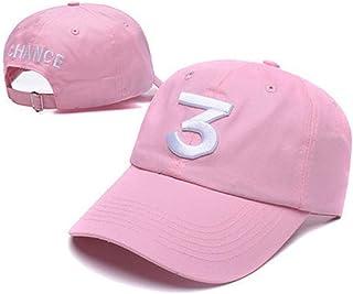 Embroider Chance Baseball Caps Sunbonnet Peaked Hats Number 3 Cotton Caps Rock Rapper Hip Hop Hats Classic Casquette Adjus...