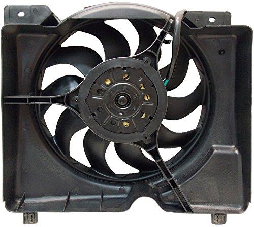 Sunbelt Radiator Cooling Fan Assembly For Jeep Cherokee CH3115106 Drop in Fitment