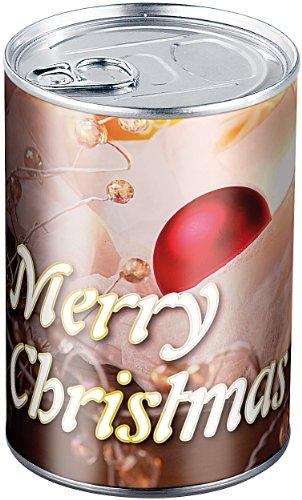 infactory Geschenk verpacken: Geschenkdose Merry Christmas: Originelle Präsent-Verpackung (Dose)