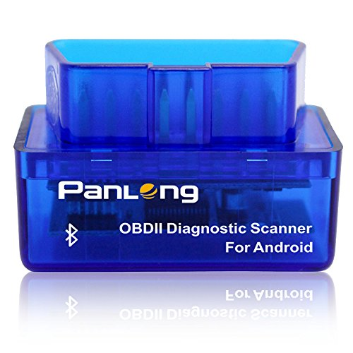 Purchase Panlong Bluetooth OBD2 OBDII Car Diagnostic Scanner Check Engine Light for Android - Compat...