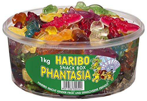 Haribo Phantasia, verpakking van 2 (2 x 1 kg doos).