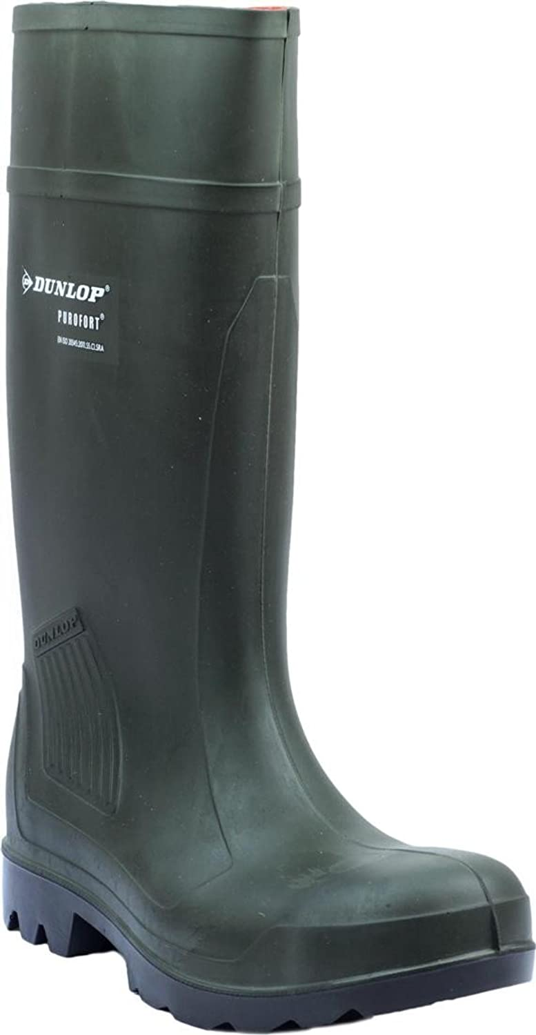 New Mens Dunlop Purofort Professional Safety C462933 Boxed Wellington Gents Boot