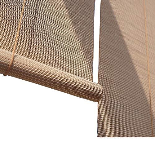 Store enrouleur occultant extérieur pour patio/porche/pergola/balcon, enroulable avec raccords, 80 cm/100 cm/110 cm/120 cm/135 cm de largeur (taille : 120 x 140 cm)