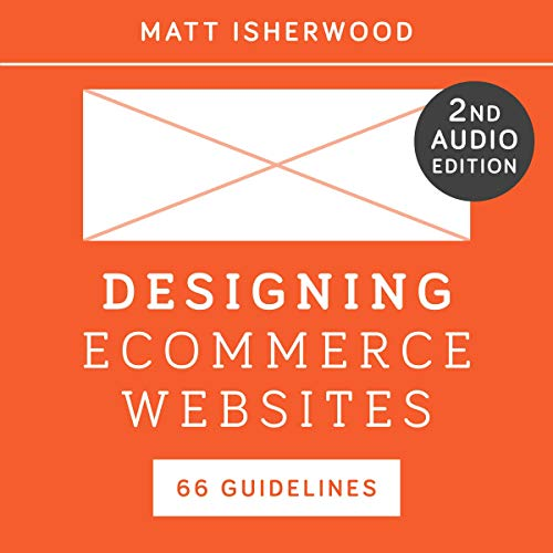 Designing Ecommerce Websites audiobook cover art