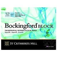 セントカスバーツ 水彩紙 ボッキングフォード ブロック 細目 310x230mm 46930001011C