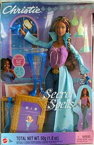 Barbie 2003 - Secret Spells - Christie - Charmed Girl - Zauberin - OVP