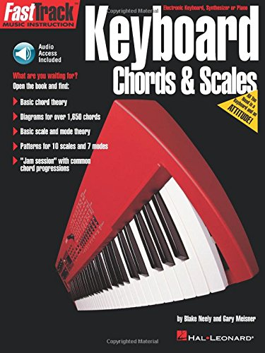 Fast Track Keyboard Chords And Scales Kbd Book/Cd (Fast Track Music Instruction)