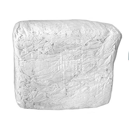 Industrieputzlappen Trikot 10 kg Würfel, geschnitten nach DIN 61650 (weiß)