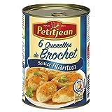 PETITJEAN - 6 Quenelles De Brochet Sauce Nantua 400G