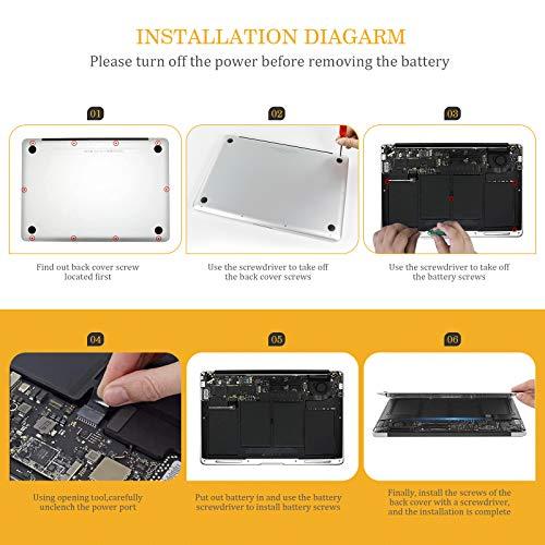 Laptop Ersatz Akku für Apple MacBook Air 13