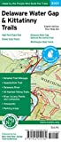 Delaware Water Gap & Kittatinny Trails Map, 2021: Delaware Water Gap National Recreation Area, High Point State Park, Stokes State Forest, Worthington State Forest