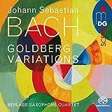 Goldbergvariationen arr. für Saxophonquartett
