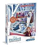 Clementoni - 16237 - Sapientino Penna Basic - Disney Frozen 2 - gioco quiz con penna interattiva, gioco educativo 3 anni, elettronico parlante - Made in Italy, batterie incluse