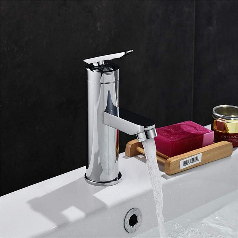Bathroom Cabinet Single Hole Basin wash Basin Faucet Bathroom hot and Cold Faucet wash Basin Basin Mixing Valve