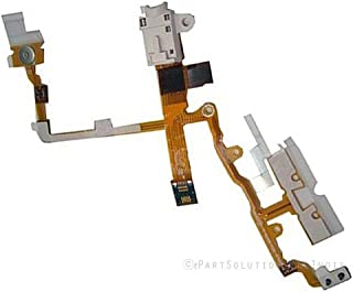 ePartSolution_Headphone Audio Jack Power Button Volume Button Flex Cable for iPhone 3G   iPhone 3GS Replacement Part USA Seller (White)