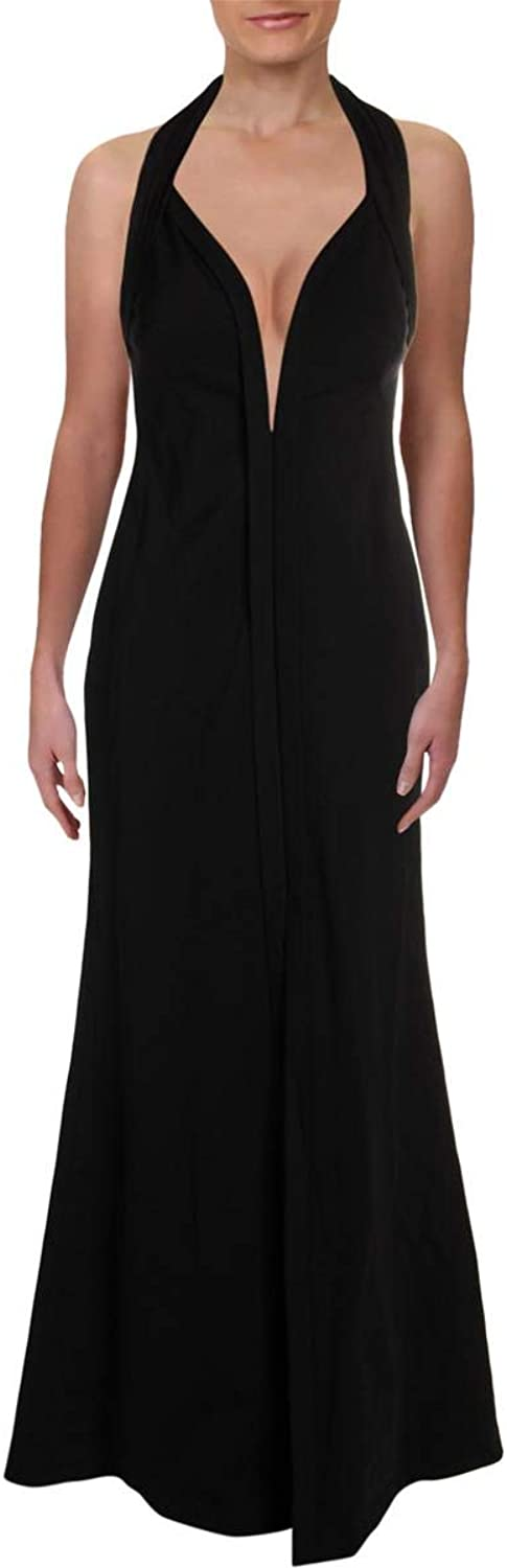 Aidan Mattox Womens Specail Occasion FullLength Evening Dress