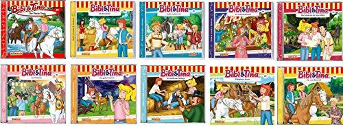 Bibi & Tina - Hörspiel zur Zeichentrick TV - Serie CD 81-90 im Set - Deutsche Originalware [10 CDs]
