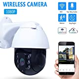 YICANG WiFi-Kamera im Freien 1080P HD Wireless CCTV-Kamera wasserdichte Dome-Überwachungskamera Human Tracking Home Security Camera