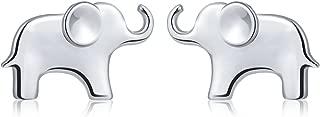 S925 Sterling Silver Lovely Elephant Pendant Necklace Earring Bracelet Anklet for Women